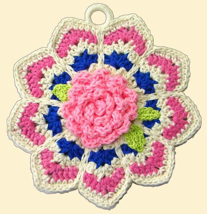 Delights-Gems: Crochet A-Long: Ripple Potholders | crochet stuff ...