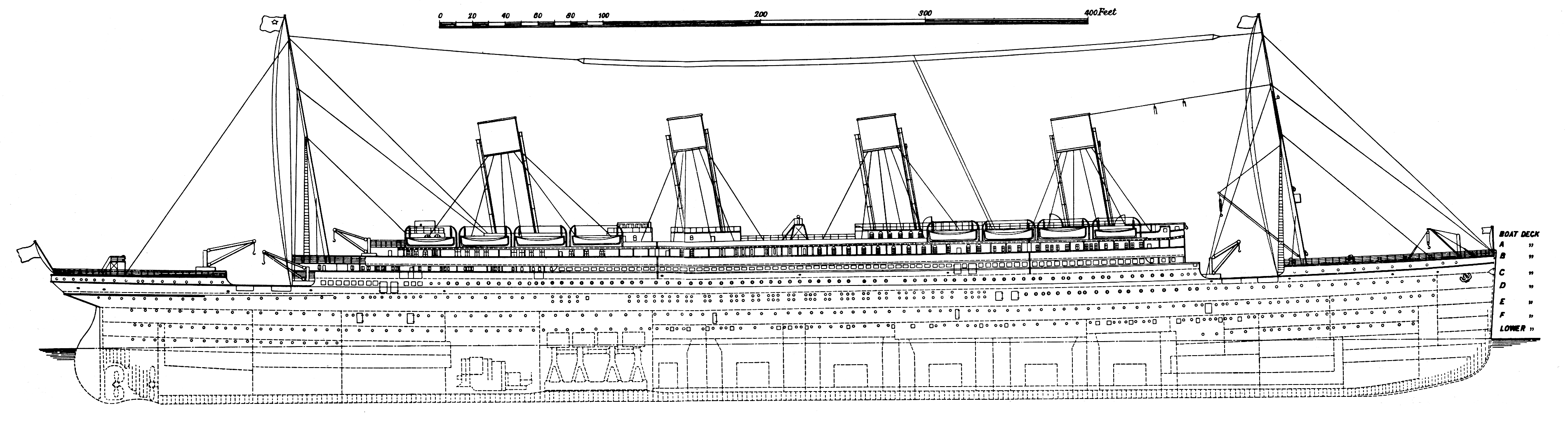 small resolution of titanic cross section