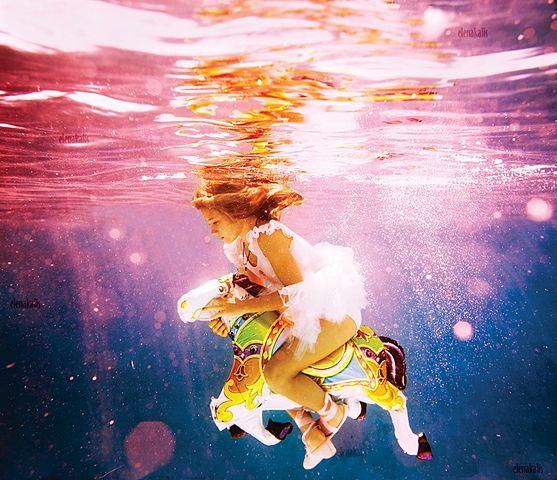 photo by elena kalis. Most amazing underwater photographer.