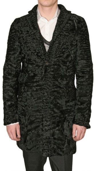 93a69e4a9 Love this  Astrakhan Coat  Lyst