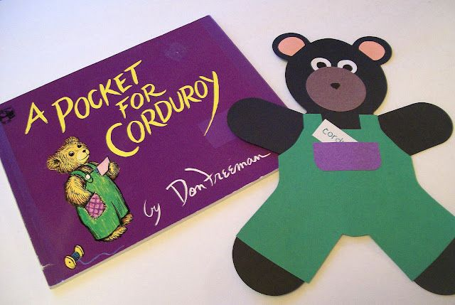Corduroy bear (free template) to make when reading the book http ...