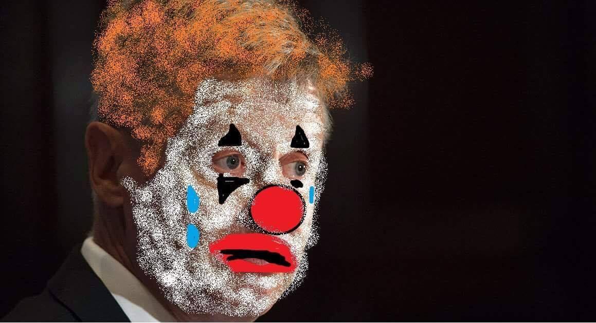 Gary Johnson Reminds me of a Sad Clown