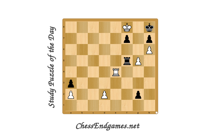The long and winding road… White to move and win (A