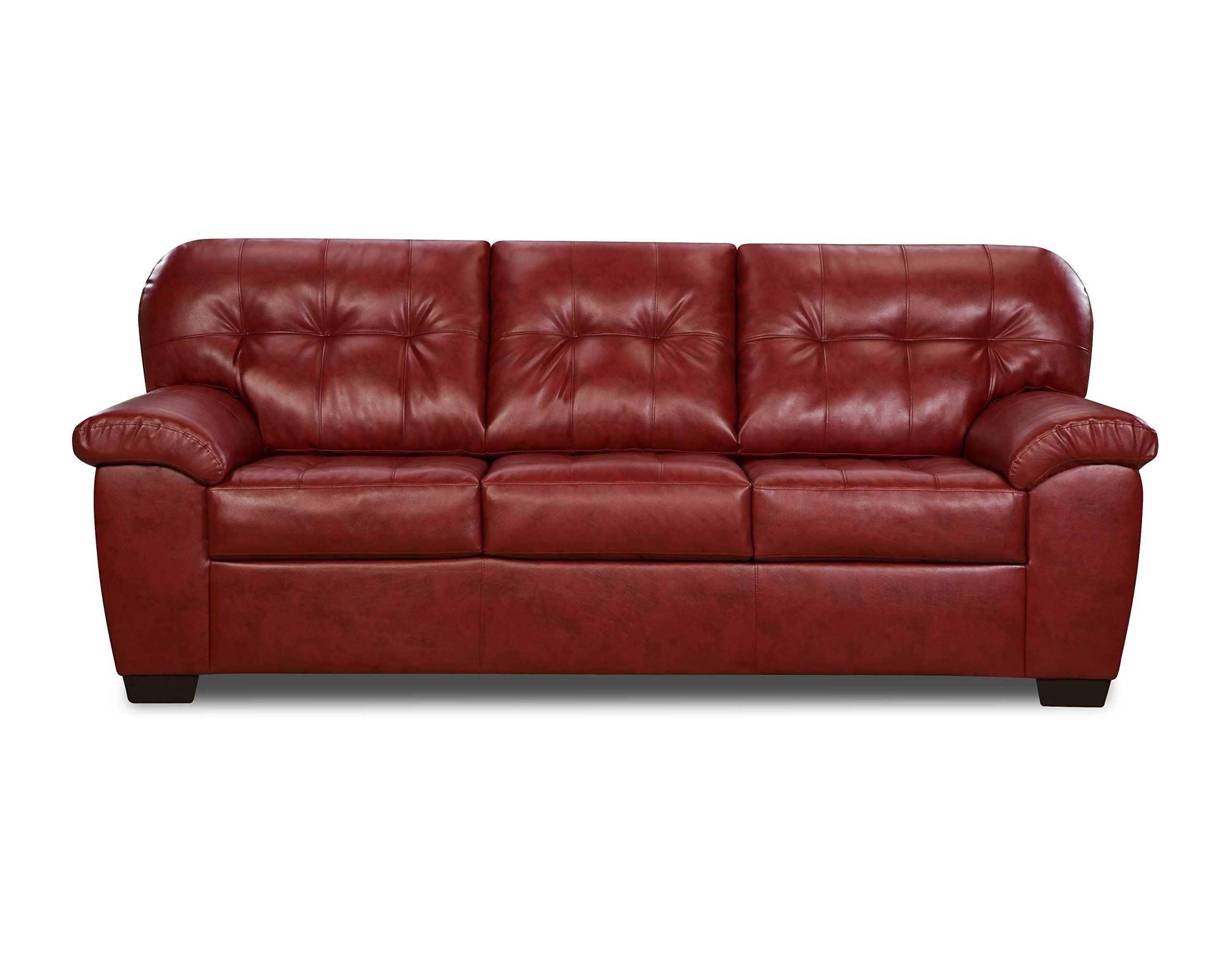 Simmons Upholstery 956903 Soho Cardinal Bonded Leather Sofa Click On The Image For Additional Details Affiliate Link