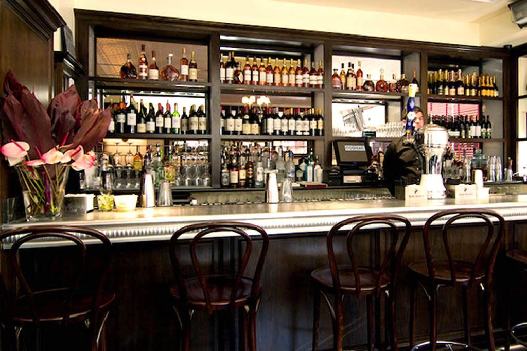 Lounge Bar Hospitality Furniture Design Of Cognac Brasserie