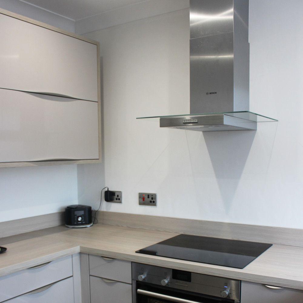 bosch extractor hood dp interiors completed schuller kitchens mr mrs hinton dp interiors of preston lancashire