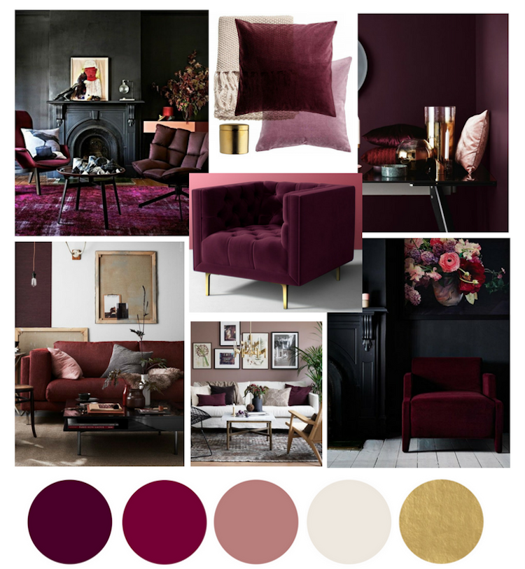 Living trends for autumn winter 2019 2019: colors