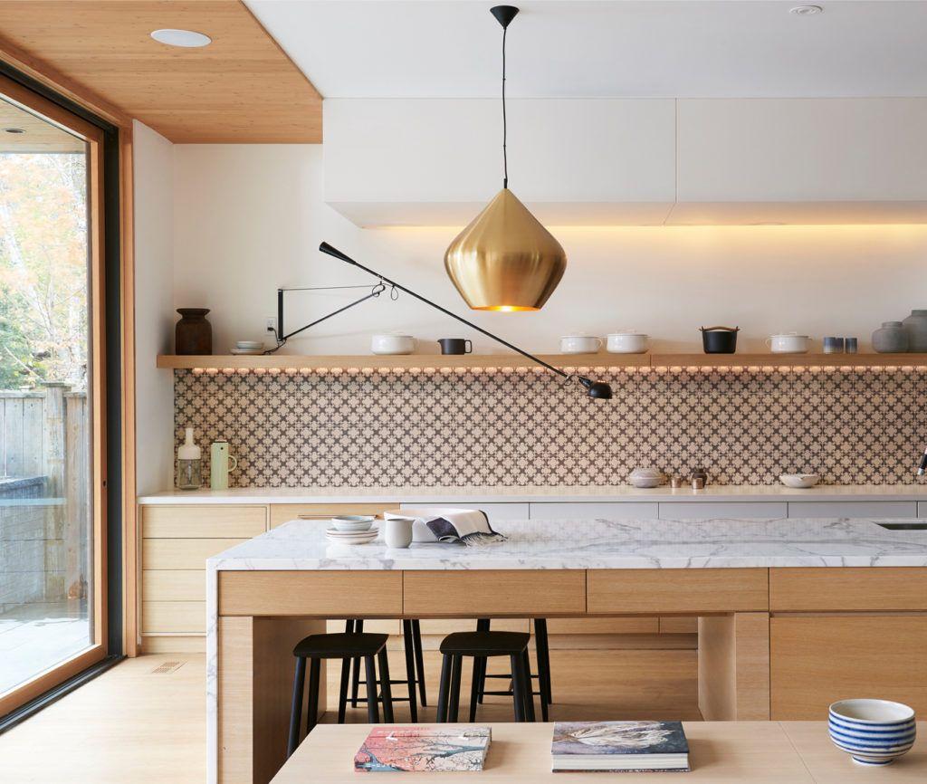 Moderne Fliesen Küchenrückwand