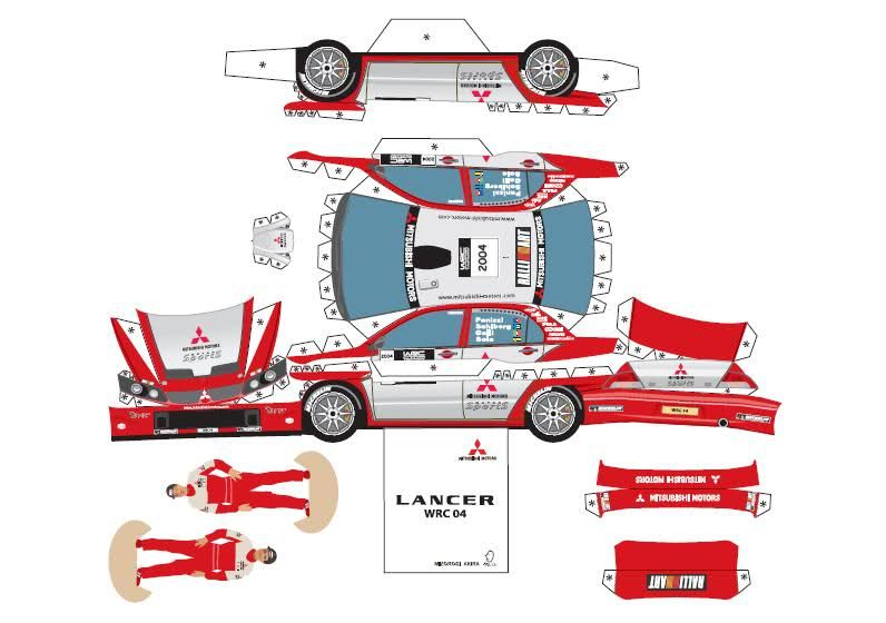 4 Best Images Of Printable Paper Toys Car Impala