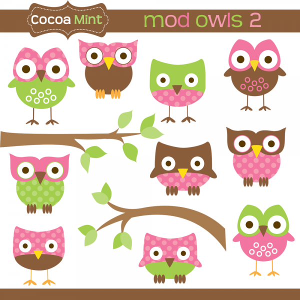 mod owls clip art#Repin By:Pinterest++ for iPad#