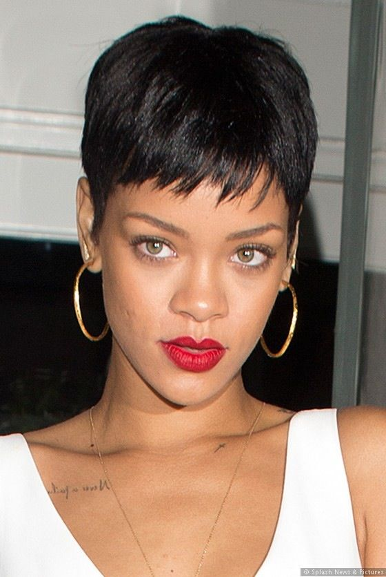 Rihanna Short Hair Rihanna Short Hair Rihanna Hairstyles Short Hair Styles
