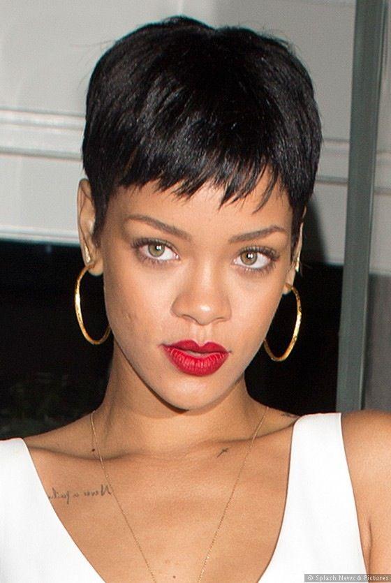 Rihanna Short Hair Rihanna Short Hair Rihanna Hairstyles Short Hair Styles