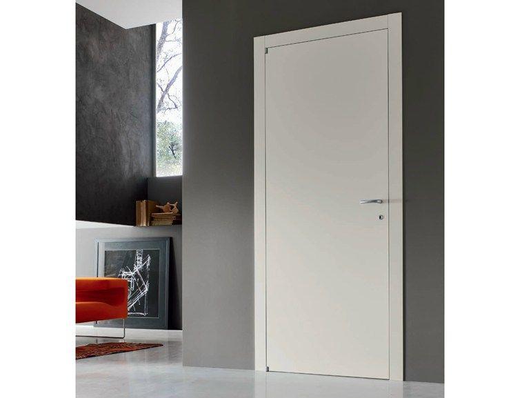 Porta Vela Door 2000.Porta A Battente Laccata Aurica Collezione Vela By Door 2000