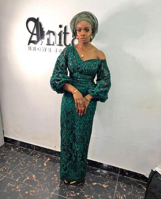 Gorgeous Asoebi Styles #nigeriandressstyles