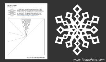 snowflake template pattern  snowflake patterns. printable! so many! so beautiful ...
