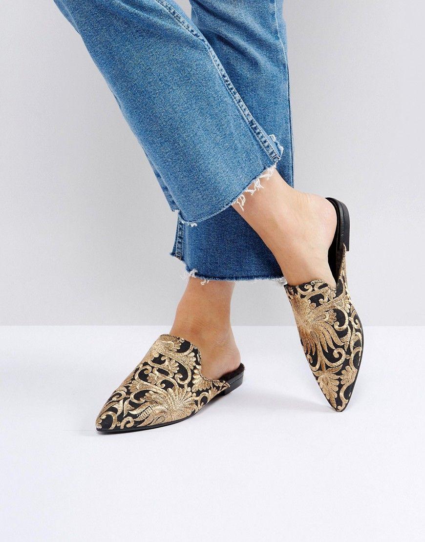 06ceda6e090 VAGABOND KATLIN EMBROIDERED FAUX FUR LINED MULES - MULTI.  vagabond  shoes