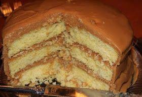 Recipes & Recipes: homemade Caramel cake