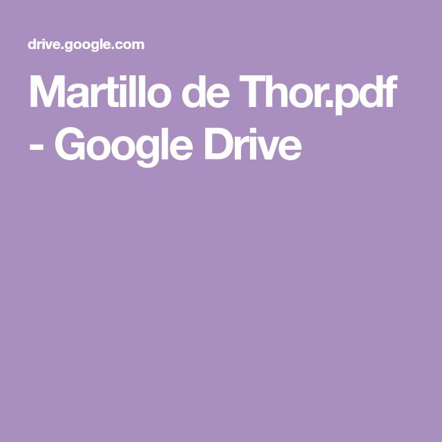 Martillo de Thor pdf - Google Drive   camisetas