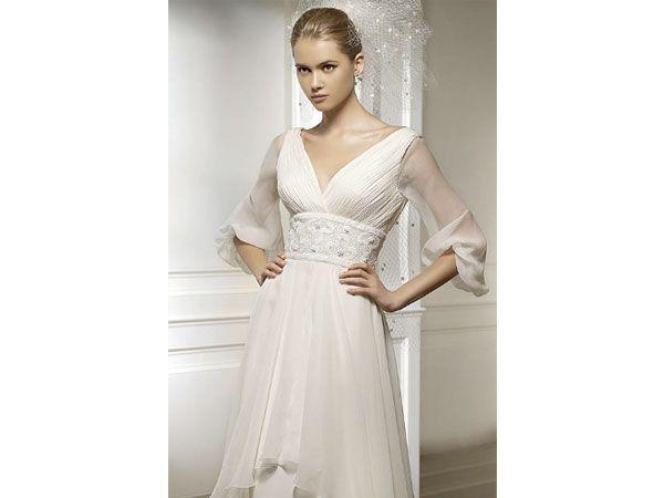 4324f006ff Manga tulipán vestido Pronovias   vestido de novia   boda