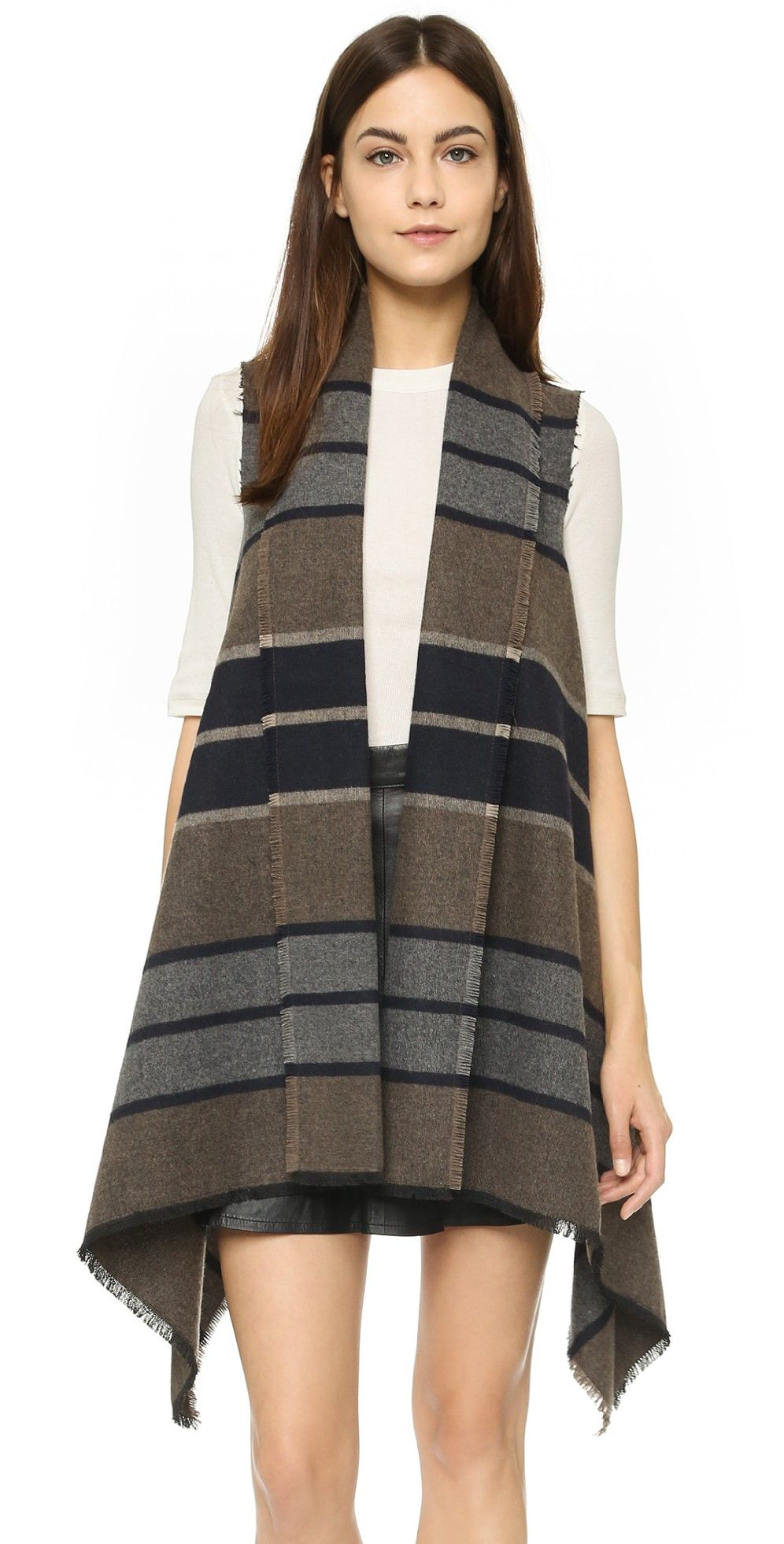 Duncan Wool Blanket Vest | Wool blanket, Bb and Tunics