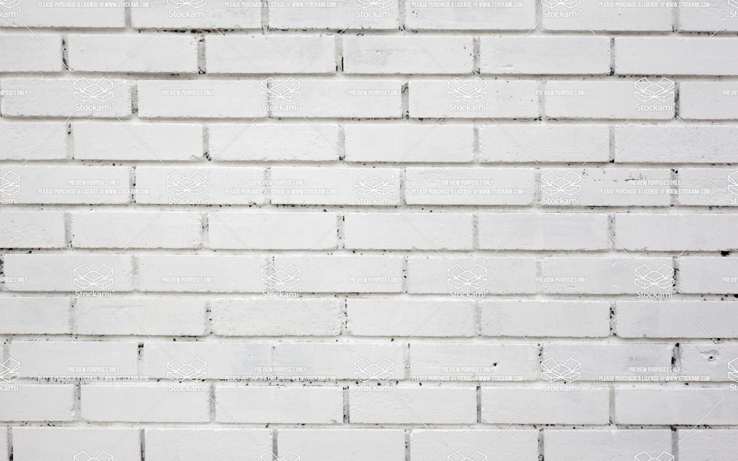 White Painted Engineering Brick Stoke Gabriel Devonshire