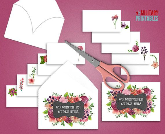 Open When Envelopes Open When Letters Printable Envelope
