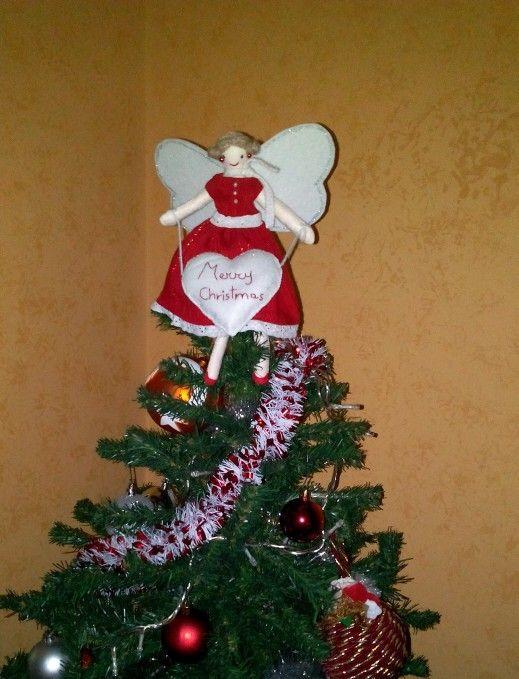 Puntale Albero Di Natale.Puntale A Forma Di Bambola Per L Albero Di Natale I Miei