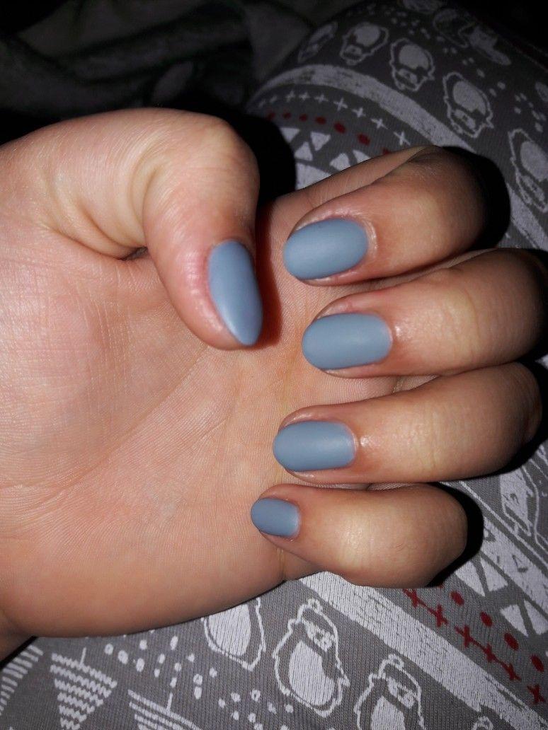 My own nails gel matte gray nails pinterest