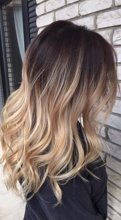45 Dark Brown To Light Brown Ombre Long Hair Color Ideas These Best 45 Ombre Hair Color Ideas For Long Hair Long Hair Color Brown Blonde Hair Long Hair Styles