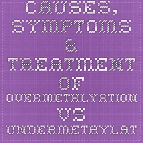 Causes, Symptoms U0026 Treatment Of Overmethlyation Vs Undermethylation. Nebennierenschwäche  BehandlungSchilddrüseWeisheit