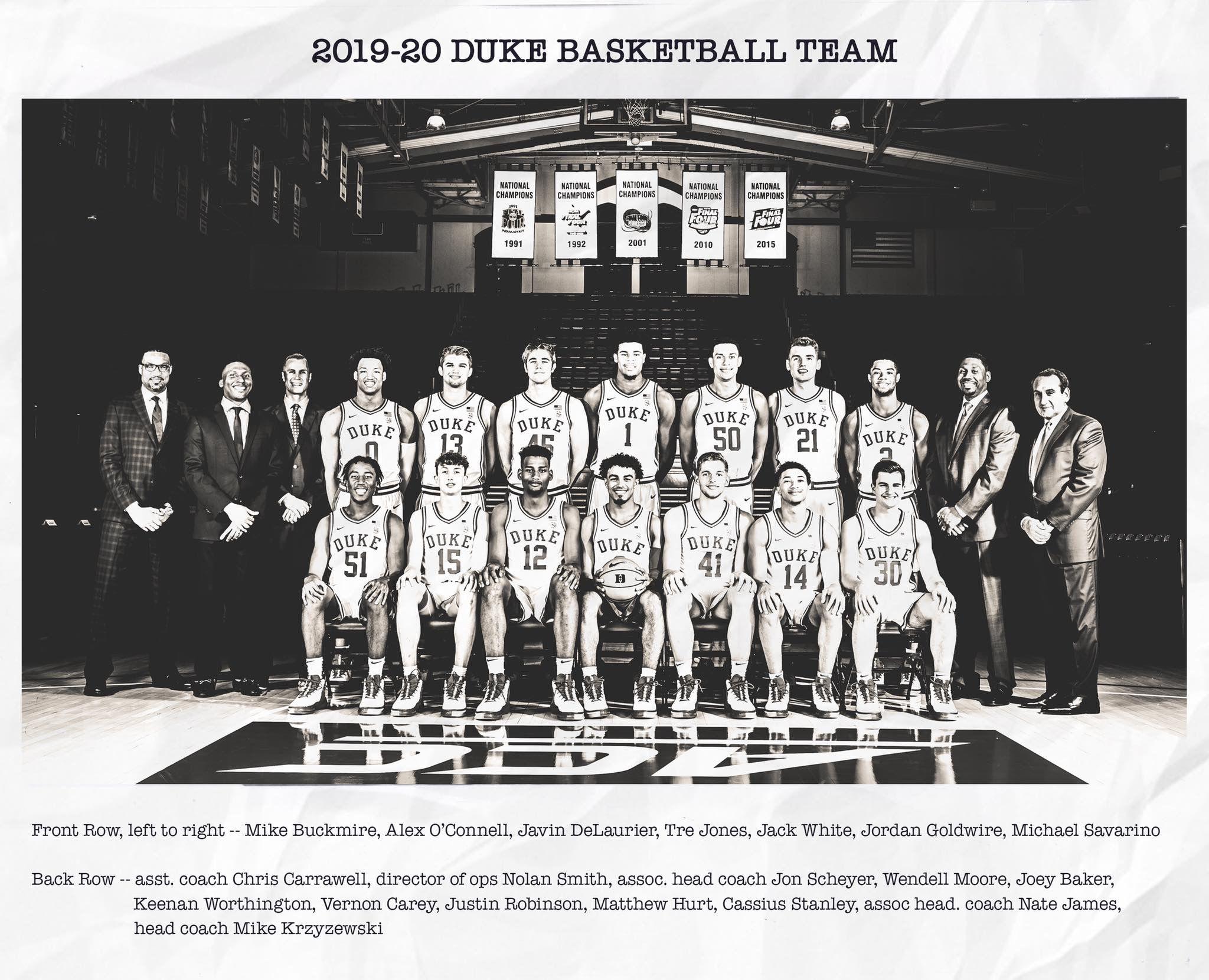 201920 Duke Basketball Duke basketball, Duke blue