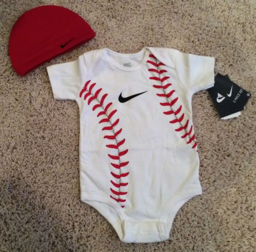 Nike Baby Baseball Outfit Hat 0 3 3 6 6 9 9 12 Months   eBay