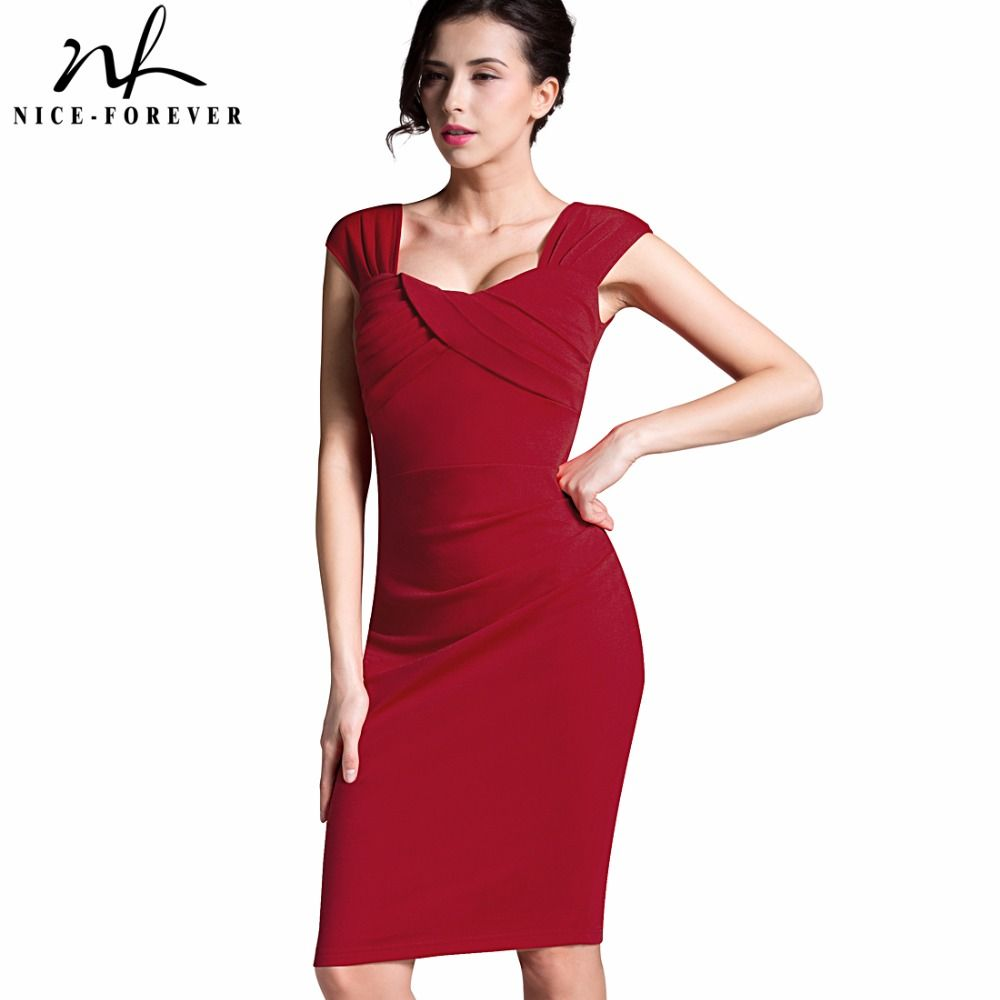 Aliexpress buy nice forever summer chic sexy lady red