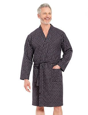 Sleepwear and Robes 175775: Mens Paisley Print Dressing Gown -> BUY ...