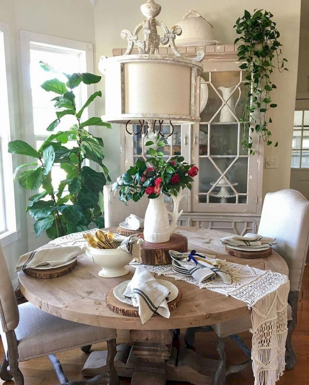 Top 11 Incredible Cozy And Rustic Chic Living Room For: 39 Best Farmhouse Dining Room Makeover Decor Ideas