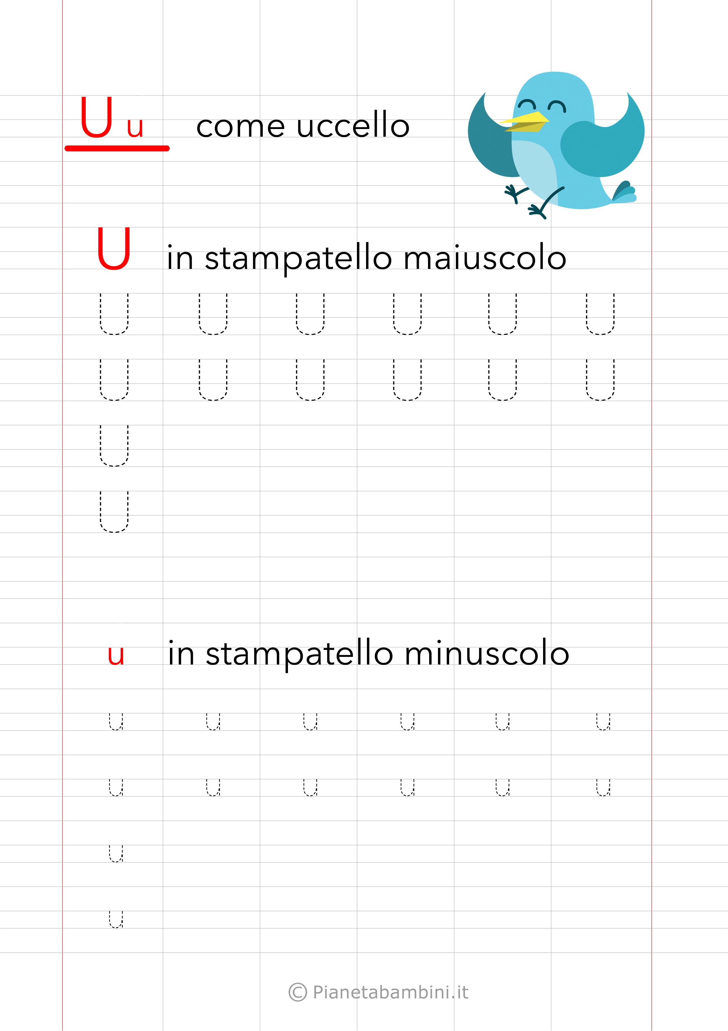 Schede Di Pregrafismo Sulle Vocali Compiti Prima Elementare