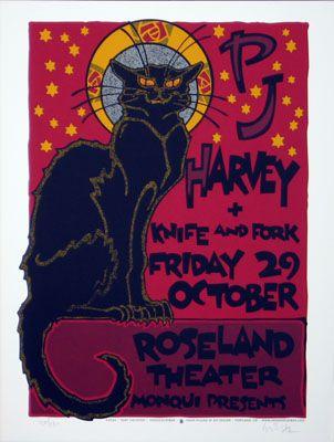 newburycomics.com - PJ Harvey-Poster by Gary HoustonPosters