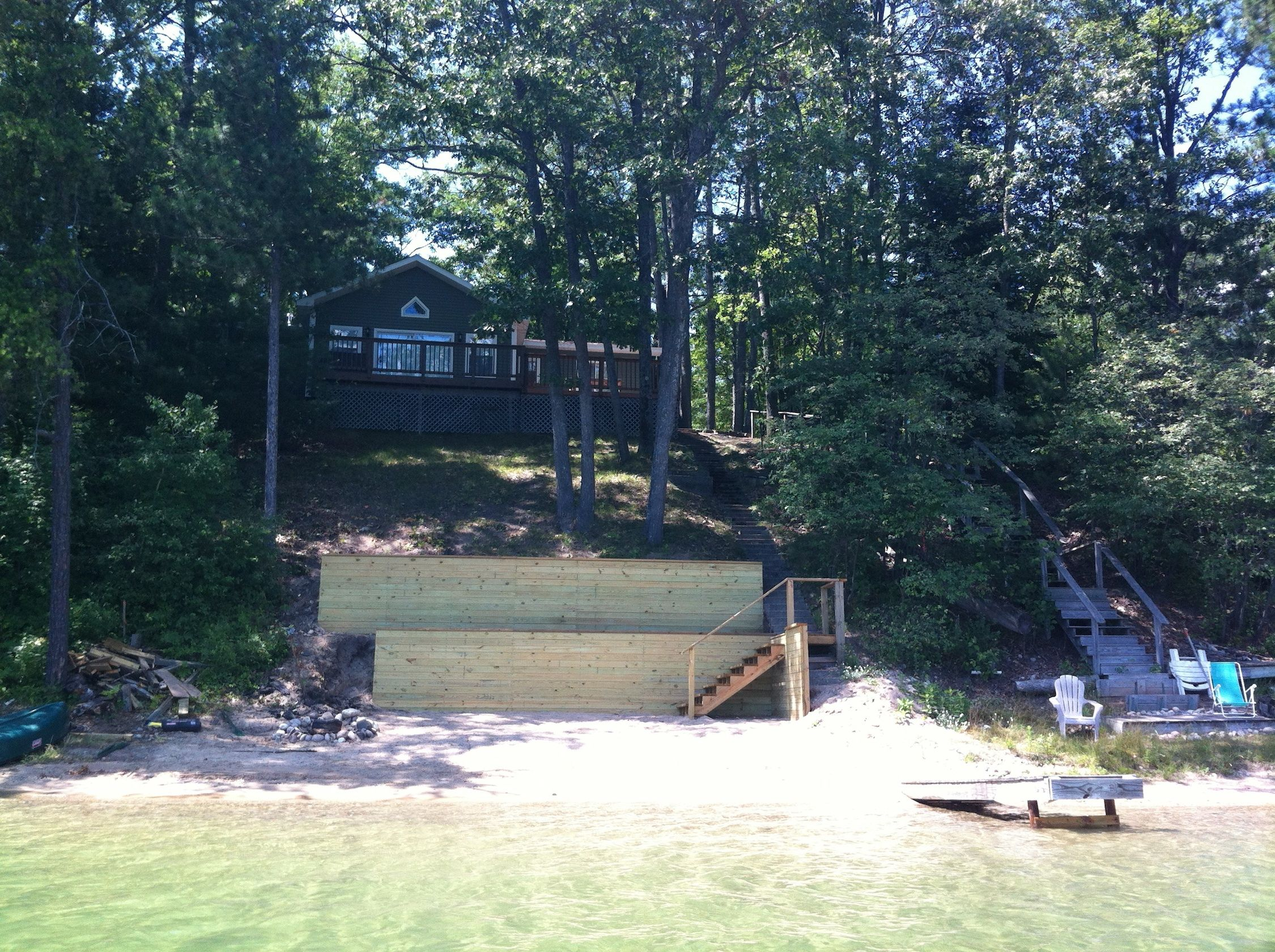 Little Bear Lake House Exterior 2 | Little Bear Lake House