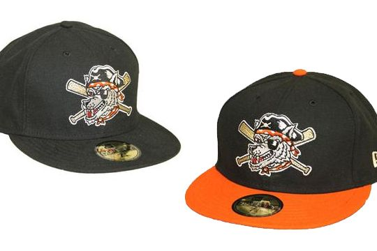 3c593d7ff22 Erie SeaWolves 59Fifty Onfield Hats
