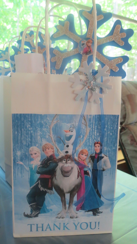 Frozen Party Loot Bag