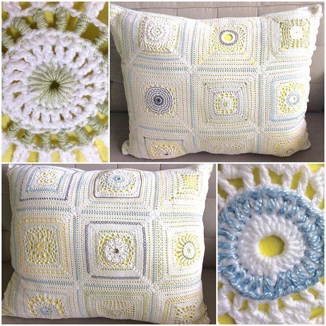 cojín crochet elisabethandree | Grannys crochet | Pinterest ...