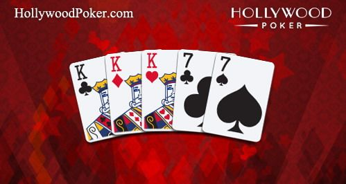 Best HD Poker Hand Full House Aces Kings Playing Cards Cdr