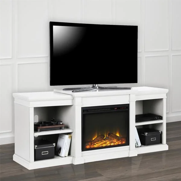 Avenue Greene Anderson Electric Fireplace Tv Stand For Tvs Up To