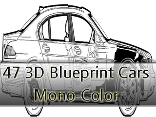 47 3d blueprint cars mono color part iii car car car pinterest 47 3d blueprint cars mono color part iii malvernweather Choice Image
