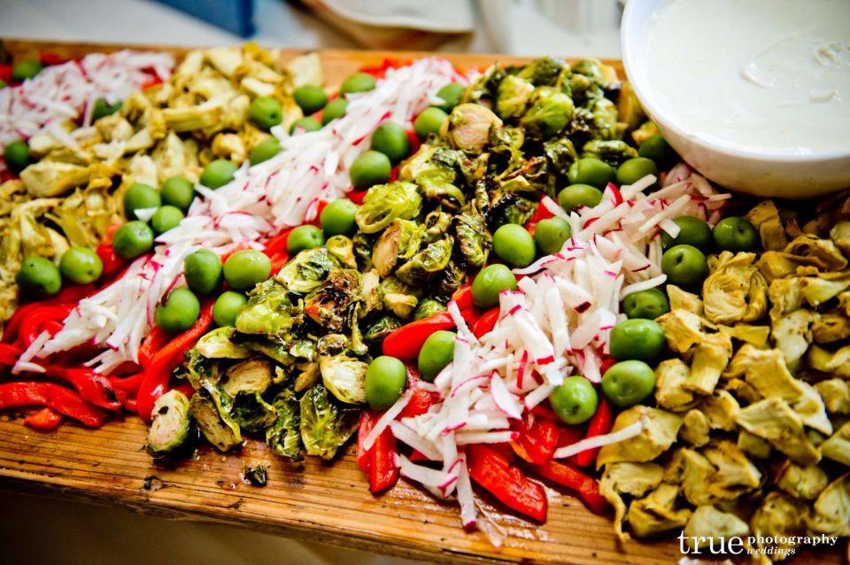 Three Leaf Catering- Roasted Vegetable Platter