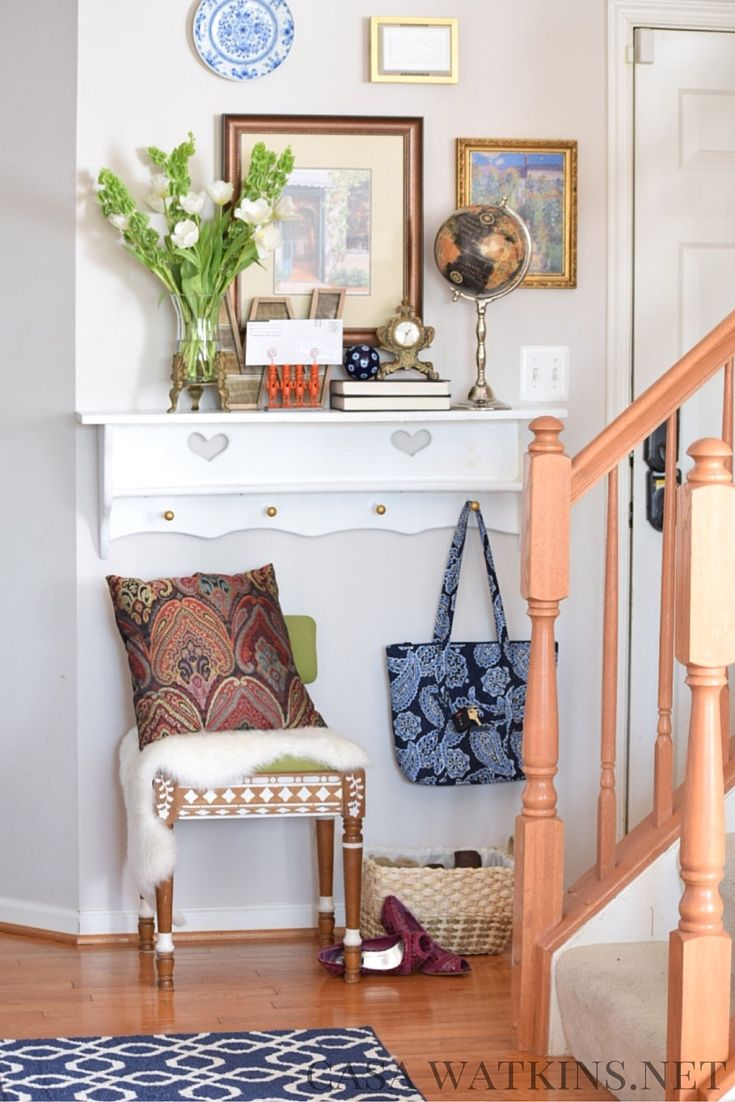 How To Style A Global Eclectic Entryway Global Eclectic Decor