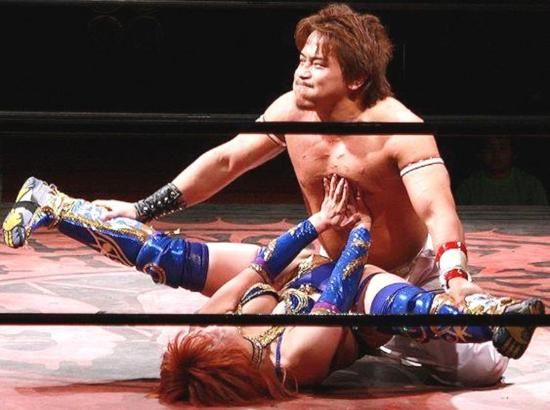Miss Kana Wrestling A Man  Womens Wrestling, Mixed -5977