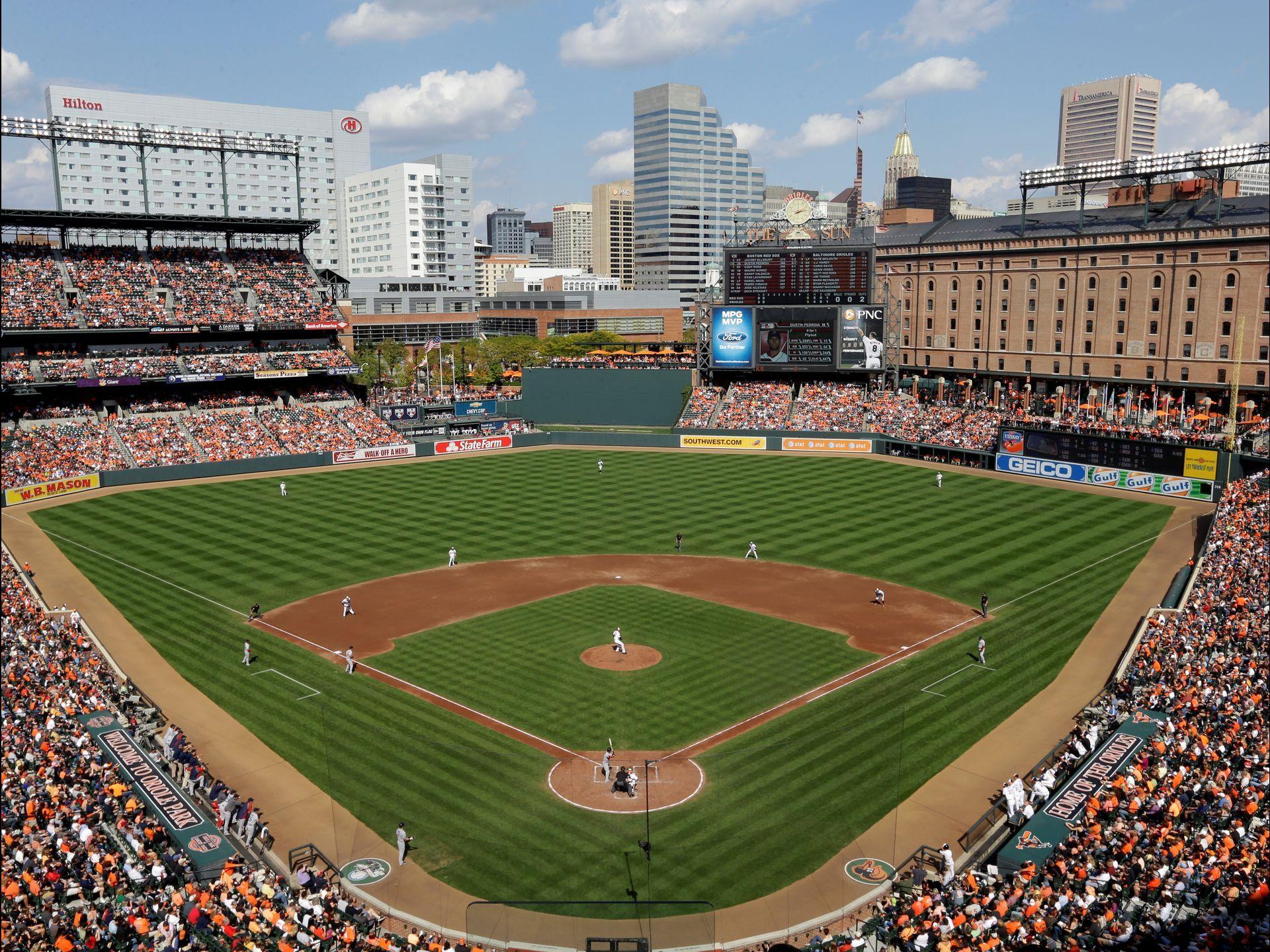 A Trip Through All 30 Mlb Stadiums Mlb Stadiums Baseball Park Baltimore Orioles Baseball