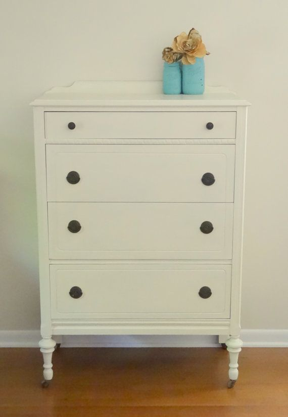 Beautiful Vintage Tallboy Dresser by Retropaint on Etsy, $345.00