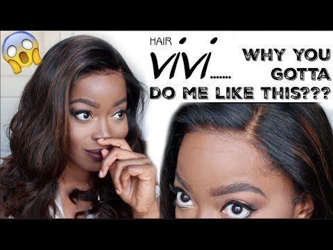 Makeup · HAIRVIVI.... Why You Gotta Do Me Like THIS??? BEST. Lace Front WigsHair TutorialsNatural ...